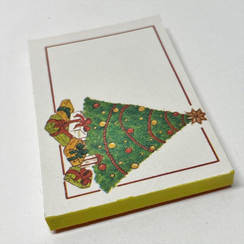 紙モノ雑貨 ヴィンテージ クリスマスプレゼント用タグシール 22枚セット【画像2】