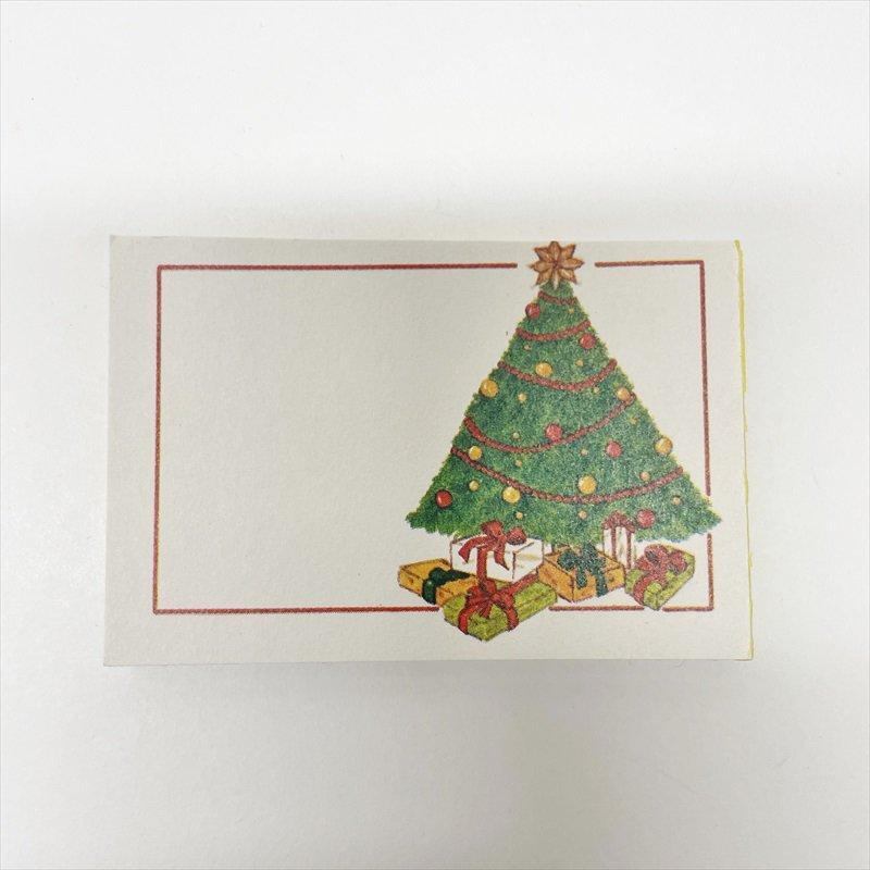 紙モノ雑貨 ヴィンテージ クリスマスプレゼント用タグシール 22枚セット【画像3】