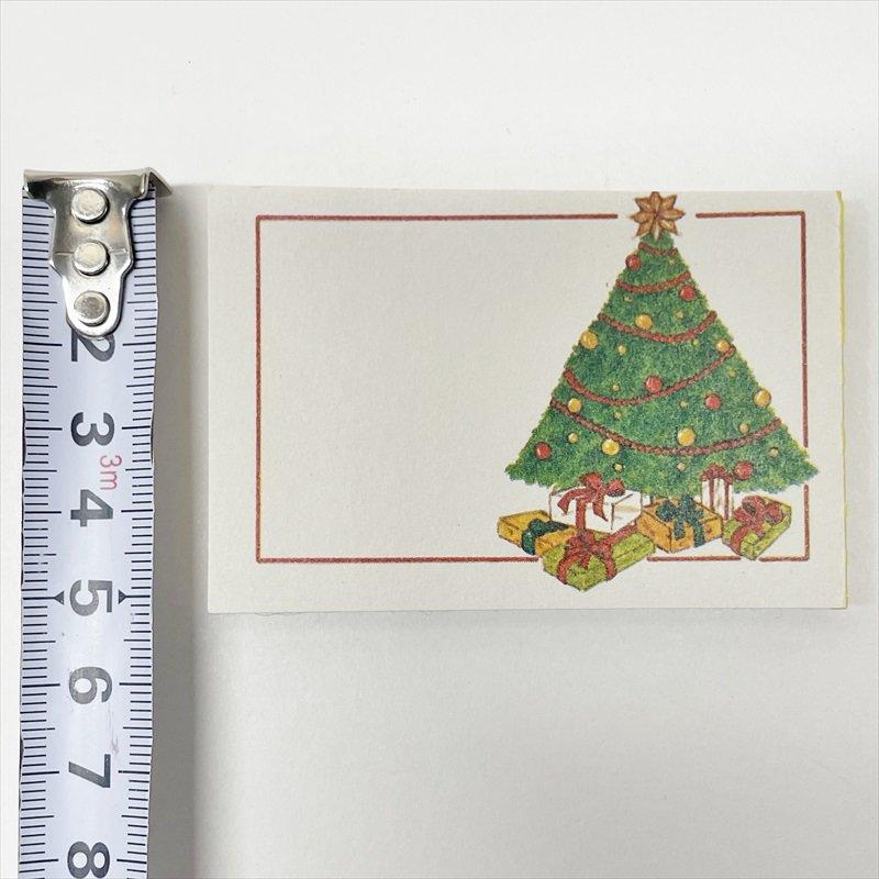 紙モノ雑貨 ヴィンテージ クリスマスプレゼント用タグシール 22枚セット【画像5】