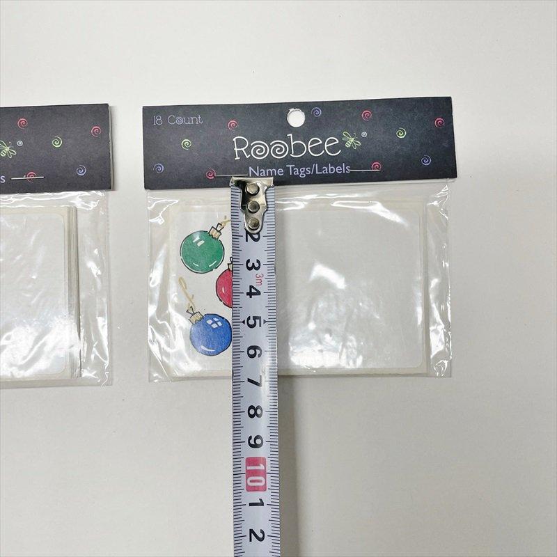 紙モノ雑貨 ヴィンテージ クリスマスプレゼントタグ 18枚セット【画像4】