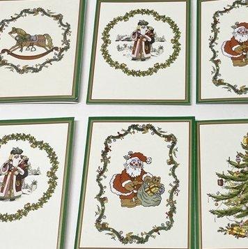 紙モノ雑貨 スポード Spode 未使用クリスマスカードタグ7枚セット【画像2】