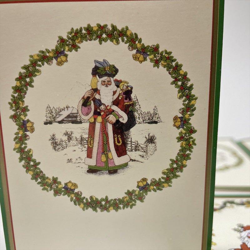 紙モノ雑貨 スポード Spode 未使用クリスマスカードタグ7枚セット【画像3】
