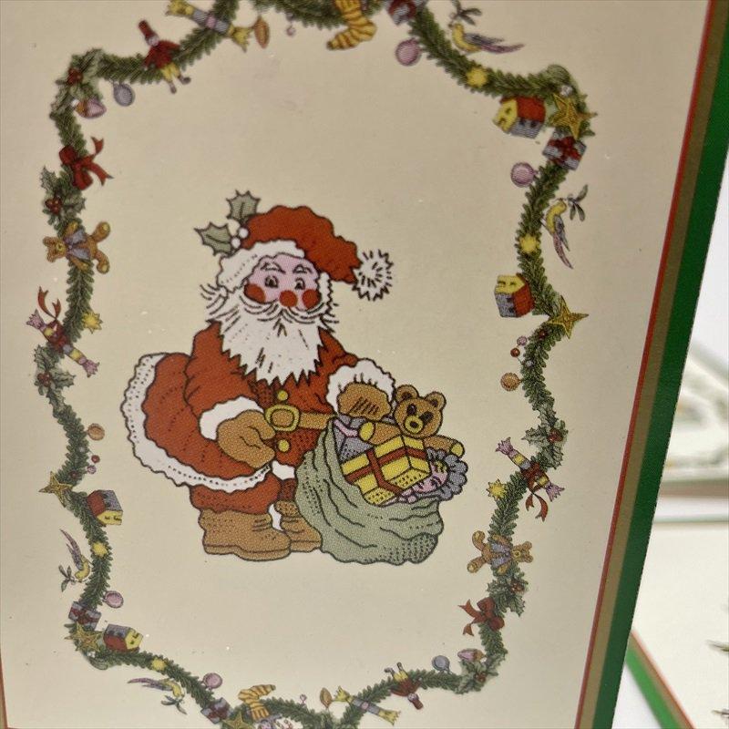 紙モノ雑貨 スポード Spode 未使用クリスマスカードタグ7枚セット【画像4】