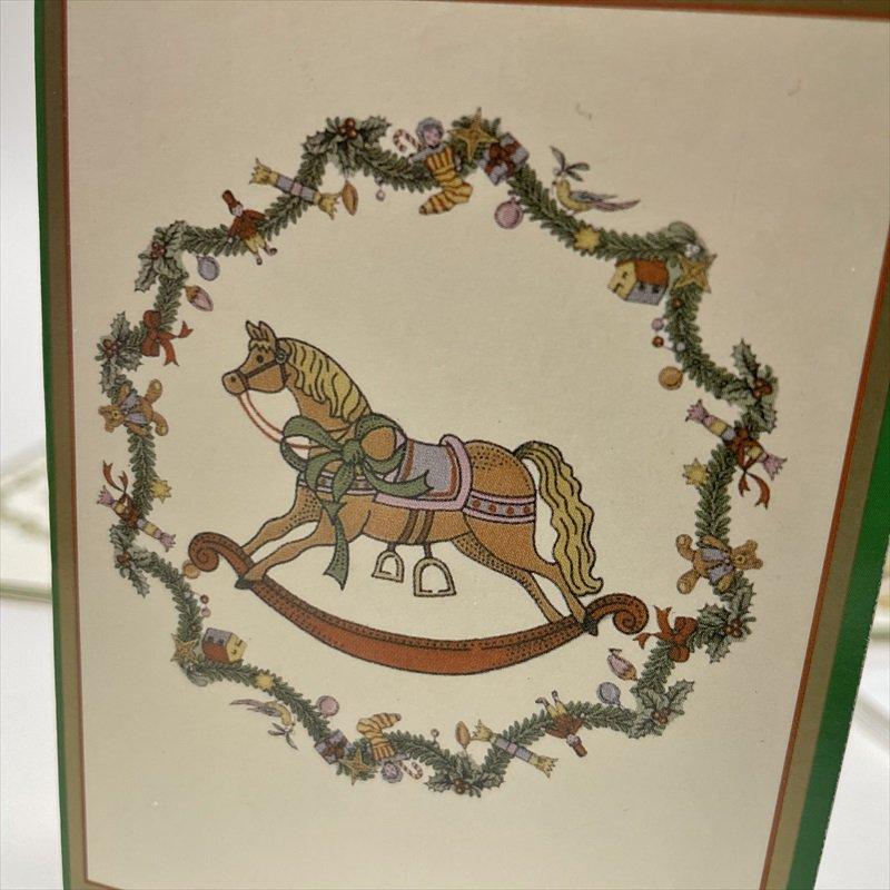 紙モノ雑貨 スポード Spode 未使用クリスマスカードタグ7枚セット【画像6】