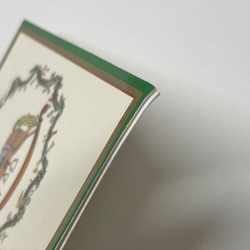 紙モノ雑貨 スポード Spode 未使用クリスマスカードタグ7枚セット【画像9】