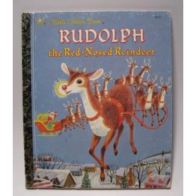 ビンテージ絵本「Rudolph the Red-Nosed Reindeer」【B】【画像2】