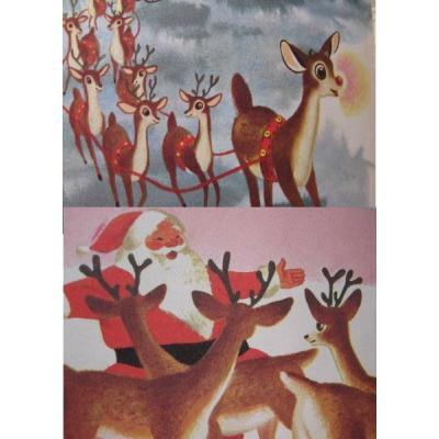 ビンテージ絵本「Rudolph the Red-Nosed Reindeer」【B】【画像3】