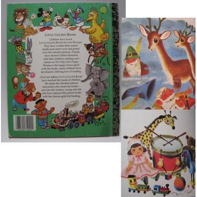 ビンテージ絵本「Rudolph the Red-Nosed Reindeer」【B】【画像4】