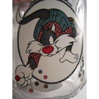 Looney Tunes・Sylvester・クリアジョッキグラス