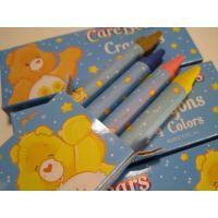 鉛筆・ペン 現行品・ケアベア「Care Bears Crayons」・クレヨン4色セット