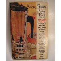 レシピブック ビンテージレシピブック「Waring Blender Cook Book」