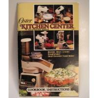 レシピブック 1982年・ビンテージレシピブック「Oster Kitchen Center」