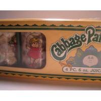 キャラクター 未使用・未開封キャベツ人形「Cabbage Patch Kids」ジュースグラス4個セット箱入り
