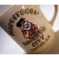 キャラクター・フィギュア・トイ・雑貨・販促商品 ビンテージ・Flintstone/フリントストーン・陶器製マグ