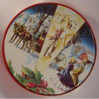 クリスマスやイースターなどの行事関連 ビンテージ・カウボーイクリスマスTIN缶