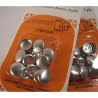 その他 未使用・Scovill Dritz Cover Button Refills・アルミニウム・ボタンカバー予備10個セット