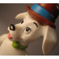 アドバタイジング・組織系 ディズニー・101匹わんちゃん・1997年マクドナルド限定販売フィギュア「チャップリン帽子」