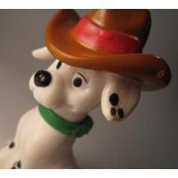 アドバタイジング・組織系 ディズニー・101匹わんちゃん・1997年マクドナルド限定販売フィギュア「ウエスタンハット」