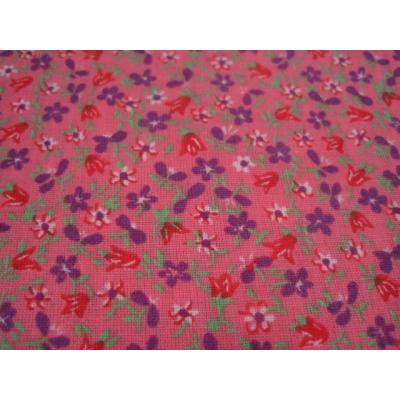 ピンクベース&紫・赤・白小花はぎれ【画像3】