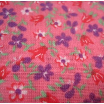 ピンクベース&紫・赤・白小花はぎれ【画像4】
