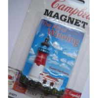 アドバタイジング・組織系 未使用未開封・Campbell's 100周年記念・灯台&海・マグネット