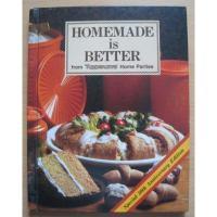 ブランド別 ビンテージ・クッキングブック「Homemade is Better」 from Tupperware
