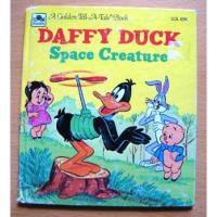 ルーニーチューンズ ビンテージ絵本「Daffy Duck Space Creature」