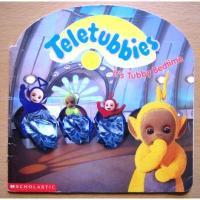 バーニー&テレタビーズ ビンテージ絵本「Teletubbies - Its Tubby Bedtime」