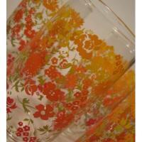 レッド&オレンジ&イエロー・グラデーション・トールグラス【A】