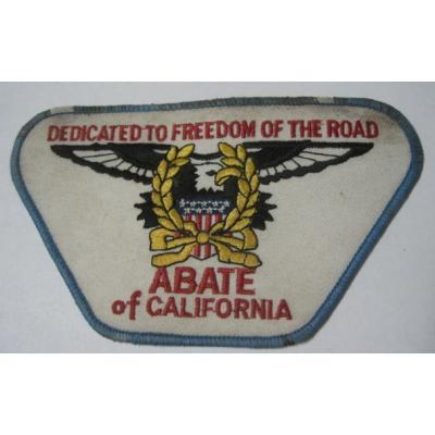 ビンテージワッペン「ABATE of California」【画像2】