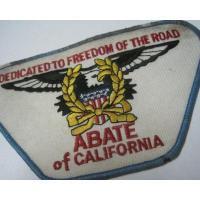 ハンドメイド用タグ&パッチ&アップリケ&ワッペン ビンテージワッペン「ABATE of California」