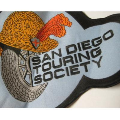 ビンテージXLワッペン・「San Diego Touring Society」【画像2】