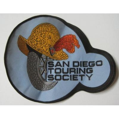 ビンテージXLワッペン・「San Diego Touring Society」【画像3】