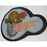 ハンドメイド用タグ&パッチ&アップリケ&ワッペン ビンテージワッペン・「San Diego Touring Society」
