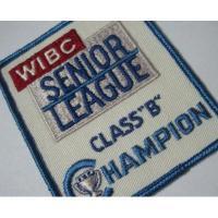 ハンドメイド用タグ&パッチ&アップリケ&ワッペン ビンテージワッペン・「WIBC Senior League Class B Championship」ボーリング