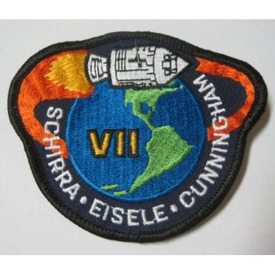 ビンテージワッペン・デッドストック「APOLLO VII」NASA/アポロ【画像3】