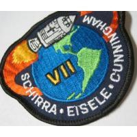 ハンドメイド用タグ&パッチ&アップリケ&ワッペン ビンテージワッペン・デッドストック「APOLLO VII」NASA/アポロ
