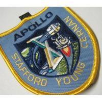 ハンドメイド用タグ&パッチ&アップリケ&ワッペン ビンテージワッペン・デッドストック「APOLLO X」NASA/アポロ