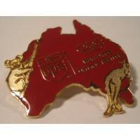 アドバタイジング・組織系 ビンテージ販促用ピン「UPS・シドニーオリンピック 」