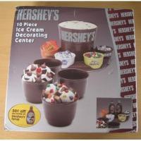アドバタイジング・組織系 デッドストック・未使用ボックス付き・Hershey's・10ピース・アイスクリームセット