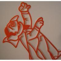 キャラクター ビンテージ・セサミストリート/マペットショー「カウント伯爵」ケーキ用キャンドルホルダー
