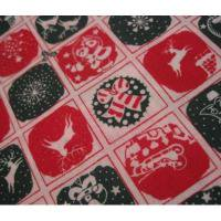 ファブリック ビンテージ・クリスマスはぎれ「ドット&スクエア&クリスマスイラスト」