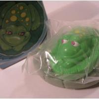 AVON雑貨 未使用・ボックス付き・エイボン・Sammy the frog soap float・石鹸セット