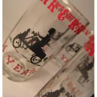 アドバタイジング・組織系 「Frank & Ralph 50 Years・オートバイ」ジュースグラス