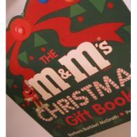 クリスマス絵本 ビンテージ絵本「The m&m's Christmas Gift Book」