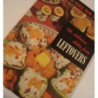 レシピブック 1949年ビンテージクッキングブック「500 Delicious Dishes for Leftovers」【B】
