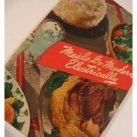 レシピブック ビンテージクッキングブック「Meals go Modern Electrically」