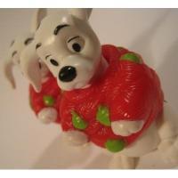 アドバタイジング・組織系 ディズニー・101匹わんちゃん・1997年マクドナルド限定販売フィギュア「赤セーター&緑オーナメント」