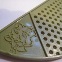 Esso エッソ 販促商品 アボカドグリーン お鍋用 プラスチック ストレイナー