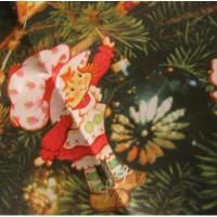 キャラクター ビンテージ・クリスマス用ラッピングペーパー「クリスマスとストロベリーショートケーキの仲間たち」